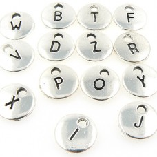 Alphabet Letter Charms - Set of 26
