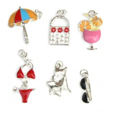 Beach Holiday Charms