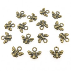Bumble Bee Charms - Pack of 10