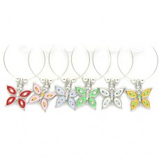Butterfly Wine Glass Charms