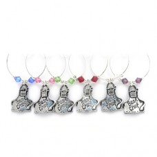 Chef Wine Glass Charms