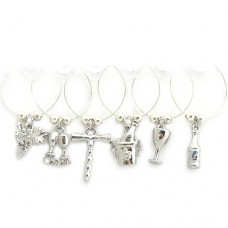 Classic Wine Glass Charms