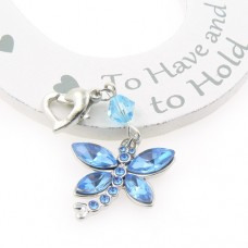Dragonfly Wedding Garter Charm
