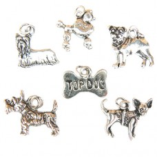 Dog Breeds Charms
