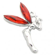 Fairy Charm - Red Christmas Tinkerbell