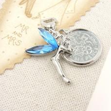 Fairy and Sixpence Wedding Garter Charm