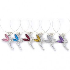 Tinkerbell Fairy Wine Glass Charms