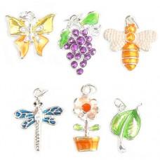 Garden Theme Charms