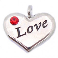Wedding Heart Charm - Love