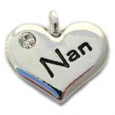 Nan Heart Charm