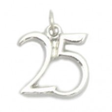 Number 25 Charm