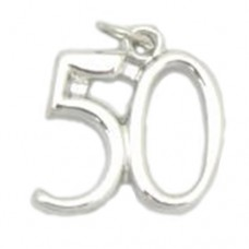 Number 50 Charm