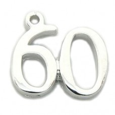 Number 60 Charm