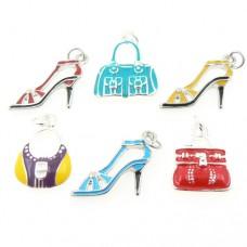 Shoes and Handbag Charms