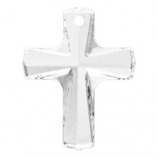 Swarovski® Crystal Cross 20mm  Crystal