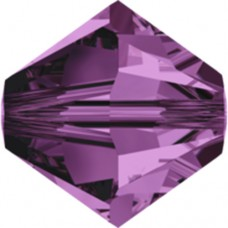 Swarovski® Crystal Bicone 4mm Amethyst