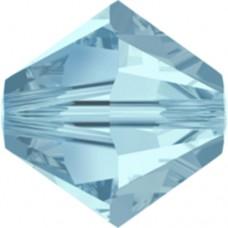 Swarovski® Crystal Bicone 4mm Aquamarine