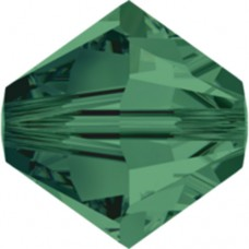Swarovski® Crystal Bicone 4mm Emerald