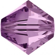 Swarovski® Crystal Bicone 4mm Light Amethyst