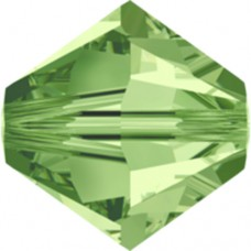 Swarovski® Crystal Bicone 4mm Peridot