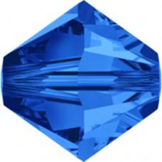 Swarovski® Crystal Bicone 4mm Sapphire