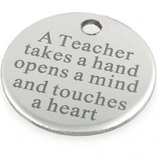 Teacher Thank You Charm