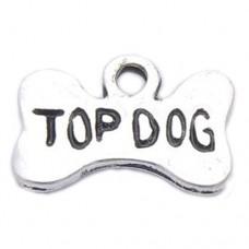 Top Dog Bone Charm