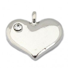 Wedding Heart Charm - Blank