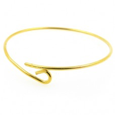 Wine Charm Rings - Gold Tone - Pack of 48