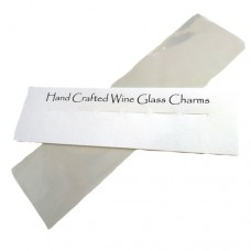 Wine Glass Charms Packaging - Mounting Card and Cello Bag