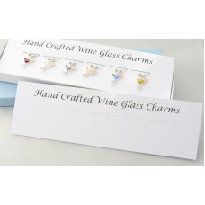 Wine Glass Charms Packaging - Mounting Card and Box