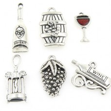 Wine Style Charms