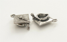 Silver Charms for glass