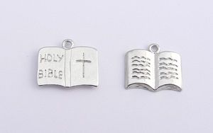 Holy Bible Charm - Silver Plated - Holy Communion - Confirmation