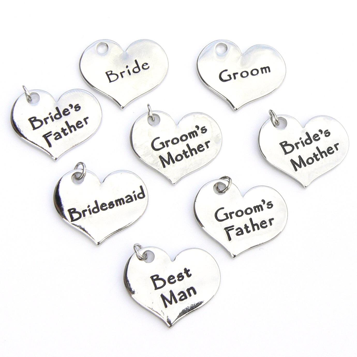 Contemporary Wedding Charms