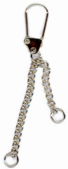 Keyring Handbag Charms Clasp and Chains - add Charms Beads - 10