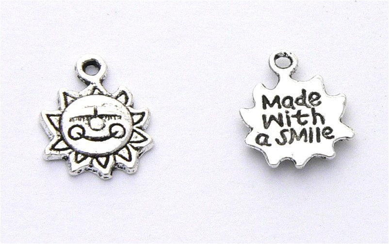 Made with a Smile Charms