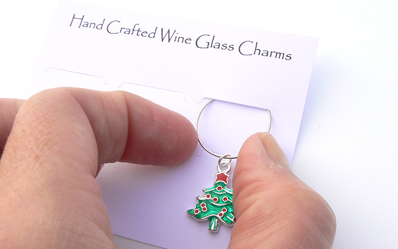 How To Make Wine Charm Rings