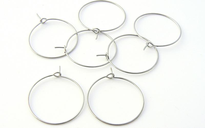 Wine Glass Charm Rings x 144