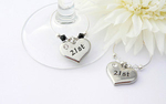 21st Wine Charms - set of 2