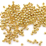 Metal Spacer Beads - Gold Plated - 200 - 3mm