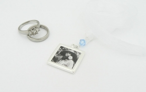 Picture Frame BOUQUET CHARM - Brides Keepsake