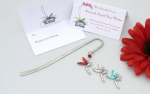 CRYSTAL TINKERBELL FAIRY Bookmark - Gift Bag and Card